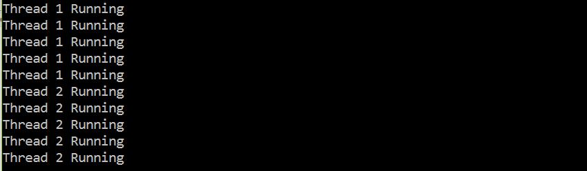 Multithreading in C